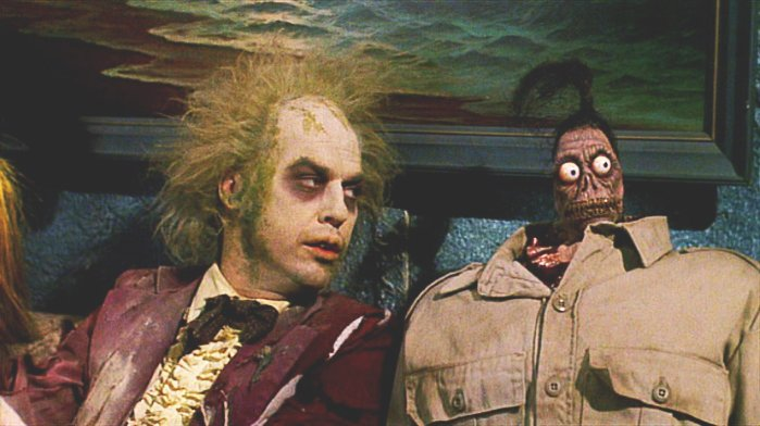 waiting room scene beetlejuice
